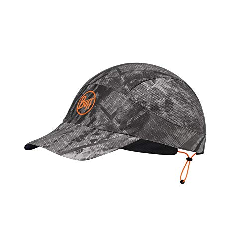 Buff Erwachsene Pack Patterned Run Cap, R-City Grey, Einheitsgröße