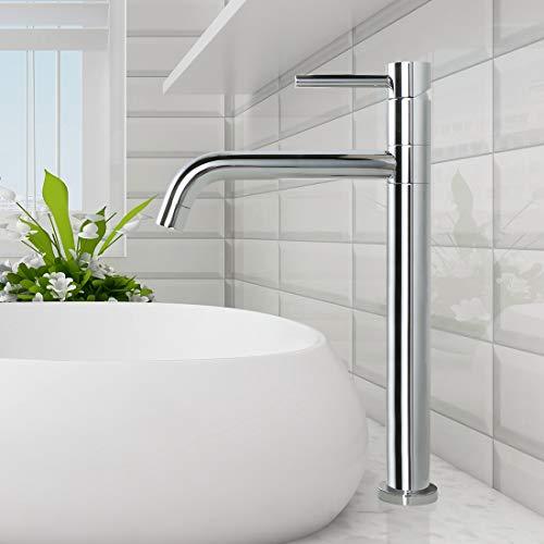 ARCORA Wasserhahn Bad Hoch Waschtischarmatur 360° Schwenkbar Armatur Waschbecken Mischbatterie Badarmatur mit hoher Auslauf
