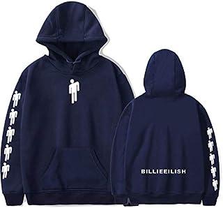 Billie Eilish Sweatshirt Women Long Sleeve Eilish Merch Lothse Unisex Pullovers Aesthetic Hoodie Tops Womens Thin Coats