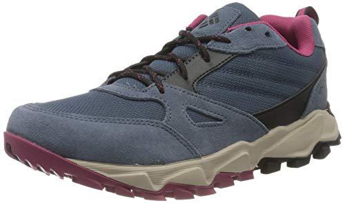 Columbia IVO TRAIL Zapatillas de deporte para mujer, Azul(Zinc, Dark Fuchsia), 36.5 EU