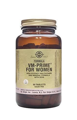 Solgar® VM Prime Women multinutriente para mujer - 90 comprimidos