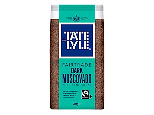 Tate & Lyle Fairtrade Dark Muscovado 500g