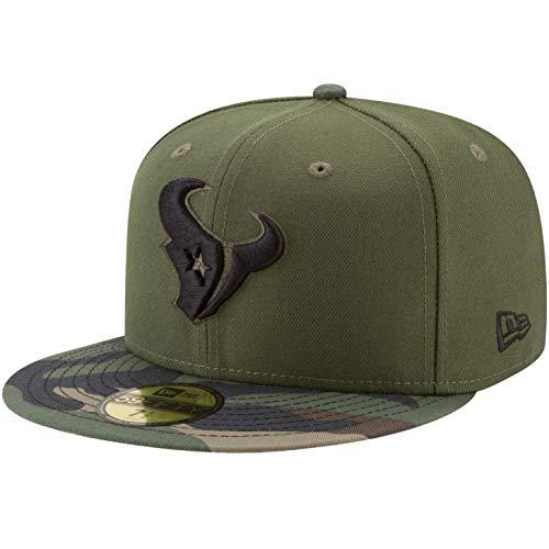 New Era 59Fifty Cap Houston Texans - Gorro, diseño de Camuflaje