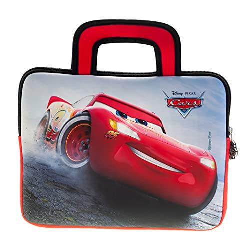 Disney Pixar Cars Tragetasche - Universell einsetzbare Neopren Kinder Tasche mit Cars-Motiv von Pebble Gear, geeignet für 8