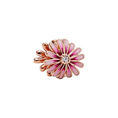 Pandora Ciondolo a forma di margherita rosa, 1,1 cm, 788775C01