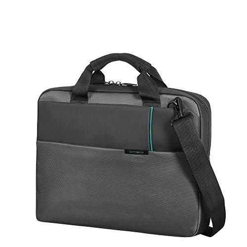 Samsonite Laptop Bag 14.1'' (Anthracite) -Qibyte  Koffer, Anthracite