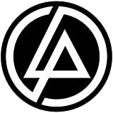 Set of 3 - Linkin Park - Full Color CAD Cut Car Logo - Sticker Graphic - Auto, Wall, Laptop, Cell, Truck Sticker for Windows, Cars, Trucks