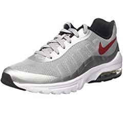 Nike Air MAX Invigor, Zapatillas de Running para Hombre, Gris (Wolf Grey/Varsity Red/Black/White), 40.5 EU: Amazon.es: Zapatos y complementos