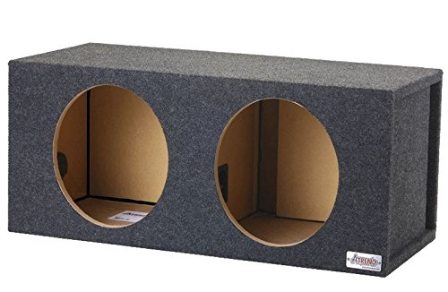 Atrend 12DVN Dual 12' Vented Enclosure Certified for Alpine E, S, R & X Series Subwoofers