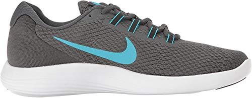 Nike Men's Lunarconverge Running Shoe, Dark Grey/Chlorine Blue/Anthracite/Black, 7.5 D US