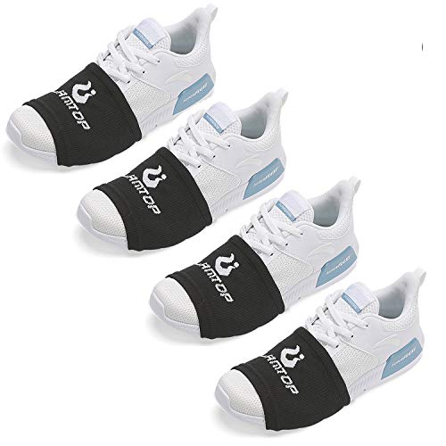 Sock Shoes Dance on Smooth Floors-Over Sneakers Shoe Socks Sliders-Zumba Strong Accessories-Smooth Pivots Turns to Dance on Wood Floors-Protect Knees for Women and Men-One Size Fits All 4 Pairs