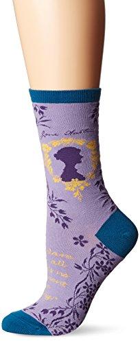 Socksmith Jane Austen Lavender One Size