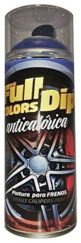 FullColors CAL001 Pintura Pinzas de Freno, Negro, 400 ml