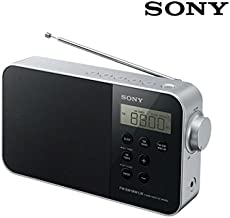 Sony ICF-M780SL - Radio portátil (FM/SW/MW/LW, Pantalla LED), Negro