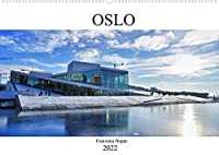 Oslo - Norwegen (Wandkalender 2022 DIN A2 quer): Norwegens schoene Hauptstadt Oslo. (Monatskalender, 14 Seiten )