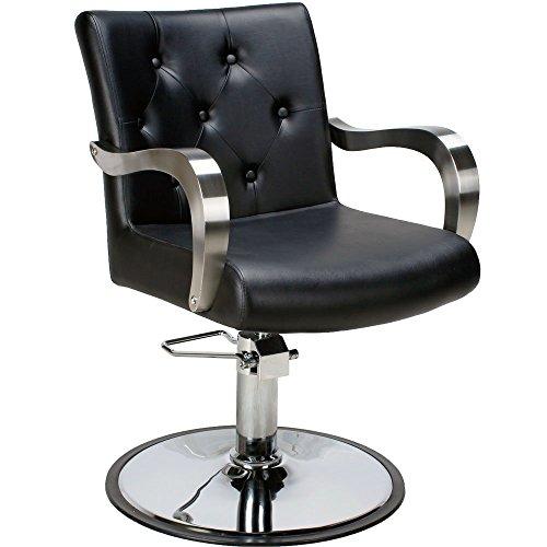 Poltrona Sedia da barbiere professionale sedia per parrucchieri parrucchiere salone trucco 205498