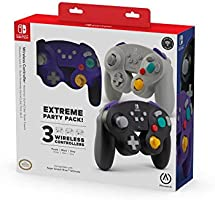 PowerA Extreme Party Pack Wireless Controller for Nintendo Switch - GameCube Style: 3 Pack - Nintendo Switch (Only at...