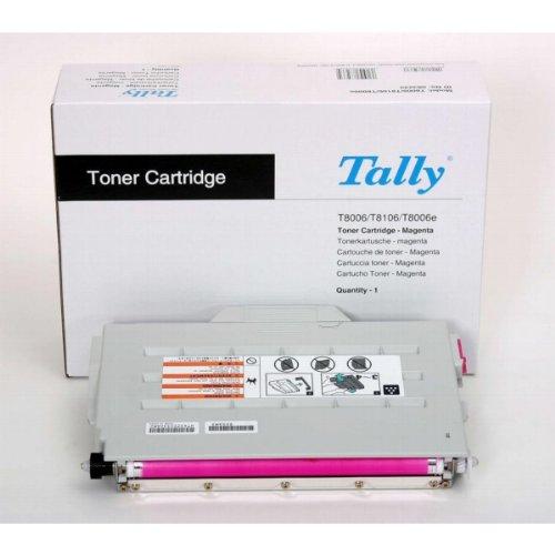 Tally Genicom de tóner originales 083233 magenta; Ca. 7,200 páginas; für T 8006, 8106