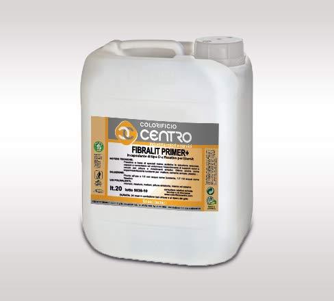 FIBRALIT PRIMER+ Fissativo incapsulamento amianto di tipo D - Colorificio Centro - Lt.5