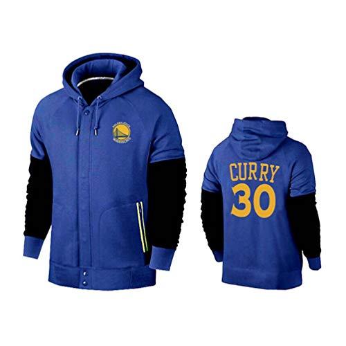 MFsports Golden State Warriors Stephen Curry Hombre Chaqueta de b/éisbol del Equipo Universitario Hombre Baloncesto Sudadera