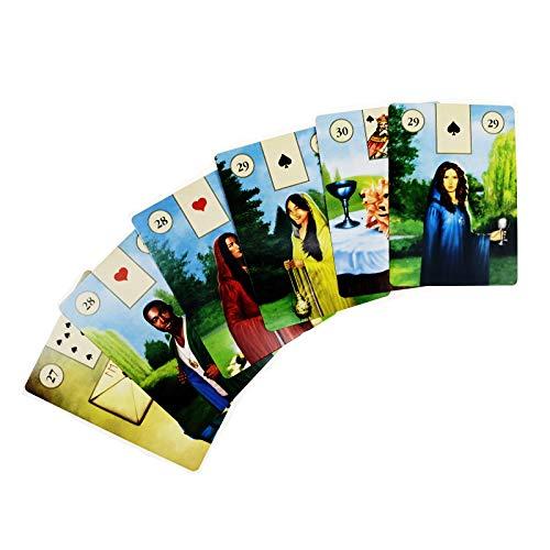 Tarot Cards Deck, Pagan Lenormand Oracle Cards, Tarocchi Tarotology Universal Waite Tarot Divination