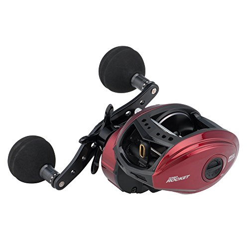 Abu Garcia Revo Toro Rocket Low Profile Reel, Red, Right