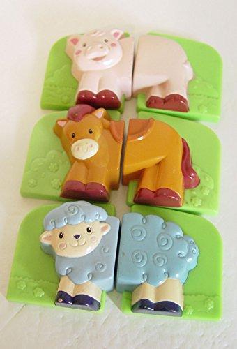 Leapfrog Fridge Farm Magnet Replacements Set Pig Horse Sheep