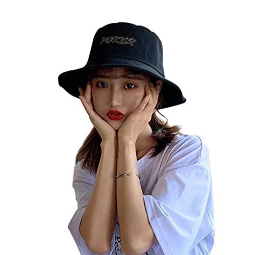Sombrero Pescador Gorras Hombre Mujer Sombrero De Sombrilla para Mujer Sombreros De Cubo con Parte Superior Plana Gorras De Cubo para Exteriores Sombrero De Pescador Mujer-B