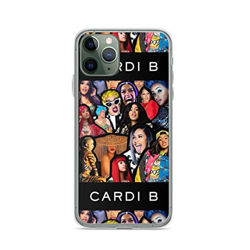 Phone Case Cardi B Compatible with iPhone 6 6s 7 8 X XS XR 11 Pro Max SE 2020 Samsung Galaxy Funny Tested Shock