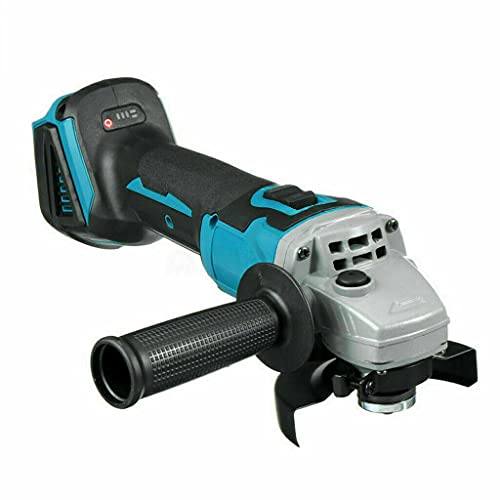 Angle Grinder 125MM, 18V Brushless Cordless Angle Grinder for Makita, 7500 RPM Motor, with Additional Handle, Ideal for Grinding, Cutting and Polishing