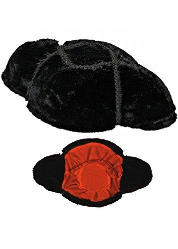 Chapeau adulte luxe Matador espagnol noir