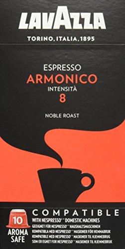 Lavazza NCC Espresso Armonico, 10 Nespresso komp Kapseln, 50 g