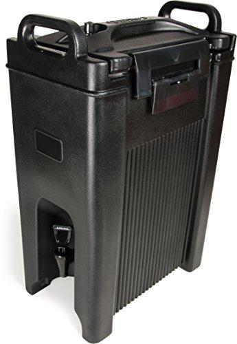 Carlisle XT500003 Cateraide Insulated Beverage ServerDispenser 5 Gallon Black
