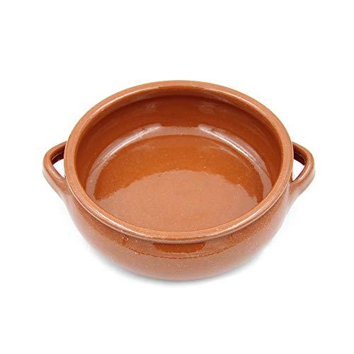 Ceramica Edgar Picas Traditional Portuguese Vintage Clay Terracotta Cooking Pot Cazuela