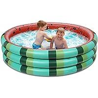 Bovn 3 Rings Kids Swimming Watermelon Pool