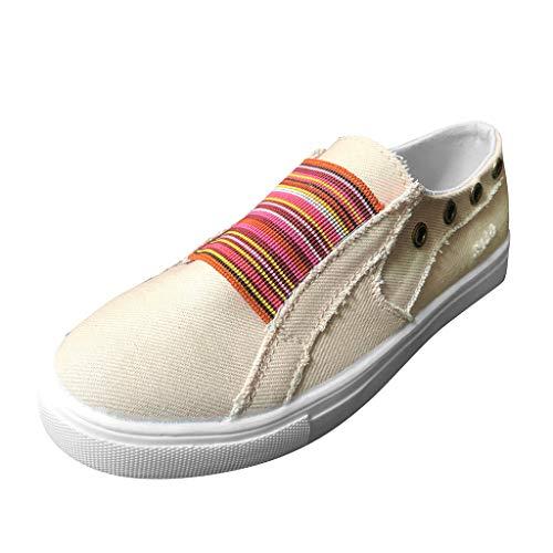 LIMITA Damen Erbsen Schuhe Sommer Flat-Bottomed Single Schuhe Mixed Color Casual Sneakers Damen Mary Jane Halbschuhe Damen Basic Geschlossene Ballerinas