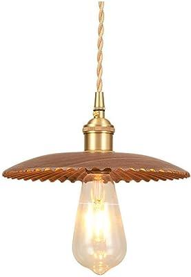miwaimao, lampadario a corona in cemento moderno e semplice, restauro della personalità nordica creativa, in legno massiccio a testa singola per negozi di abbigliamento da bar