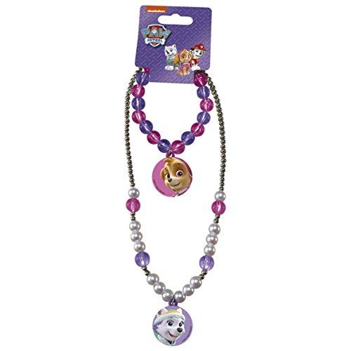 Paw Patrol Girl 2in1 Halskette + Armband Kinderschmuck Schmuck Armreif -Rund-