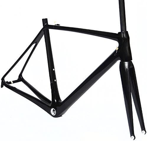 Full Carbon UD Houston Max 80% OFF Mall Glossy 700c Road 50cm Bike Frame Fork BSA Cycling