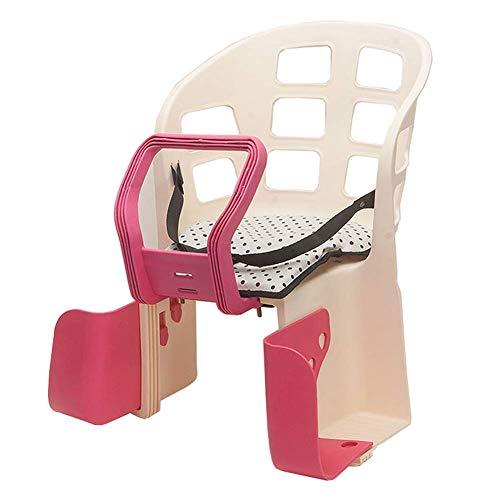 GPWDSN opknoping baby fiets seat kinderen meisjes veiligheid fiets achter 2-5 jaar kinderen seats geschikt voor mountainbike opvouwbaar bruin, 44 x 42 cm