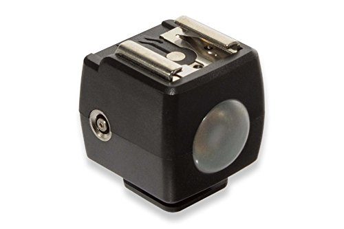 vhbw Servo Blitzauslöser kompatibel mit Standard ISO-Blitzschuh z.B. Nikon SB-300, SB-400, SB-500, SB-600, SB-700, SB-800, SB-900, SB-910, SB-N7, SB300.
