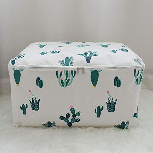ROUHO Honana Firma de Almacenamiento de algodón Bolsa Plegable portátil Organizador Edredón Bolsa Bolsa Lavable Estilo japonés - 4 S