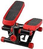 FGVDJ Máquina de Ejercicios Paso a Paso, Bicicleta elíptica Debajo del Escritorio, Mini máquina elíptica con Pedal Antideslizante, Resistencia Ajustable, Entrenador s