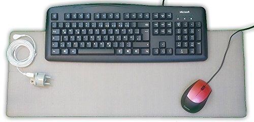 Erdungsmatte zur Erdung am PC von TZ-gesundheit. Das Original