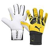 PUMA ONE Grip 1 Hybrid PRO Goalkeeper Gloves Size 7 Yellow/Black