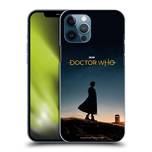Head Case Designs Officially Licensed Doctor Who Silhouette Season 11 Key Art Hard Back Case Compatible with Apple iPhone 12 Pro Max