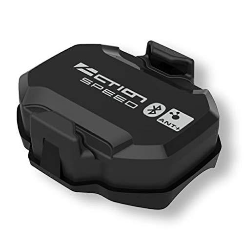 Diantai Fahrrad Geschwindigkeit und Trittfrequenz Sensor Bluetooth und ANT Wireless Bike Sensor Wasserdichter Bike-Sensor für Indoor-Bike Trainer