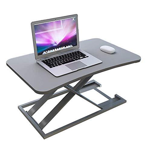 RUIMA Desk Stand Up Desks Height Adjustable Sit Stand Converter Dual Monitor Ergonomic Air Riser Laptop Stands Large Rising Desktop Computer Table Workstation Foldable Extender Home Office