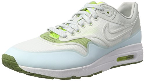Nike Womens Air Max 1 Ultra 2.0 Si Low Top Lace Up Running, White, Size 8.0
