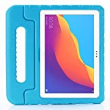 ZiHang Funda Infantil Huawei Mediapad T5 10, Carcasa Niño Antigolpes con Asa Convertible Tapa de Soporte, Funda Bebé Ligera para Huawei Mediapad T5 10 (Azul)